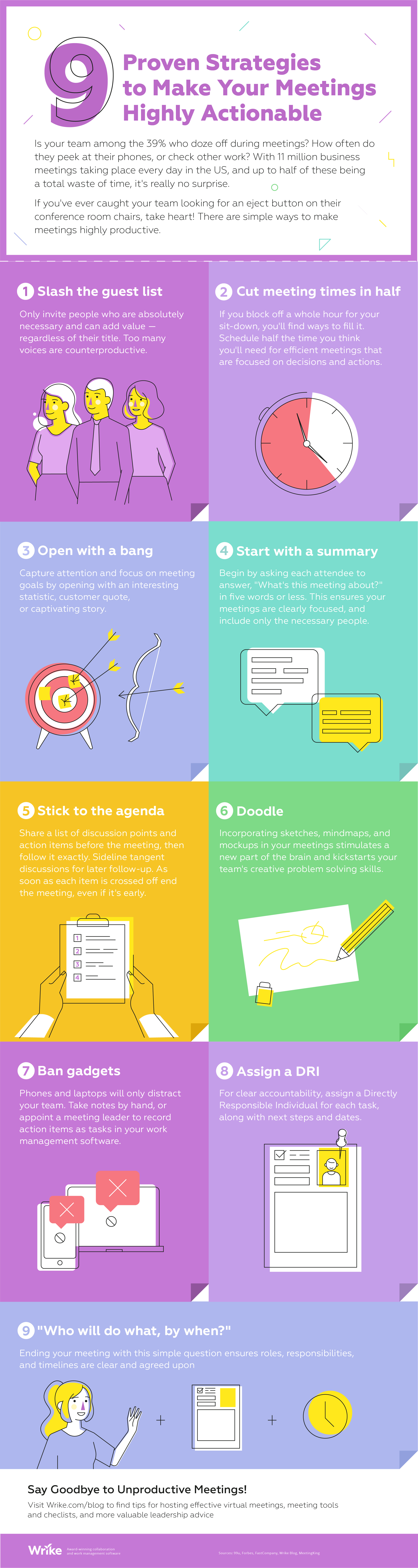 9 Proven Strategies to Make Your Meetings Highly Actionable (Infographic)