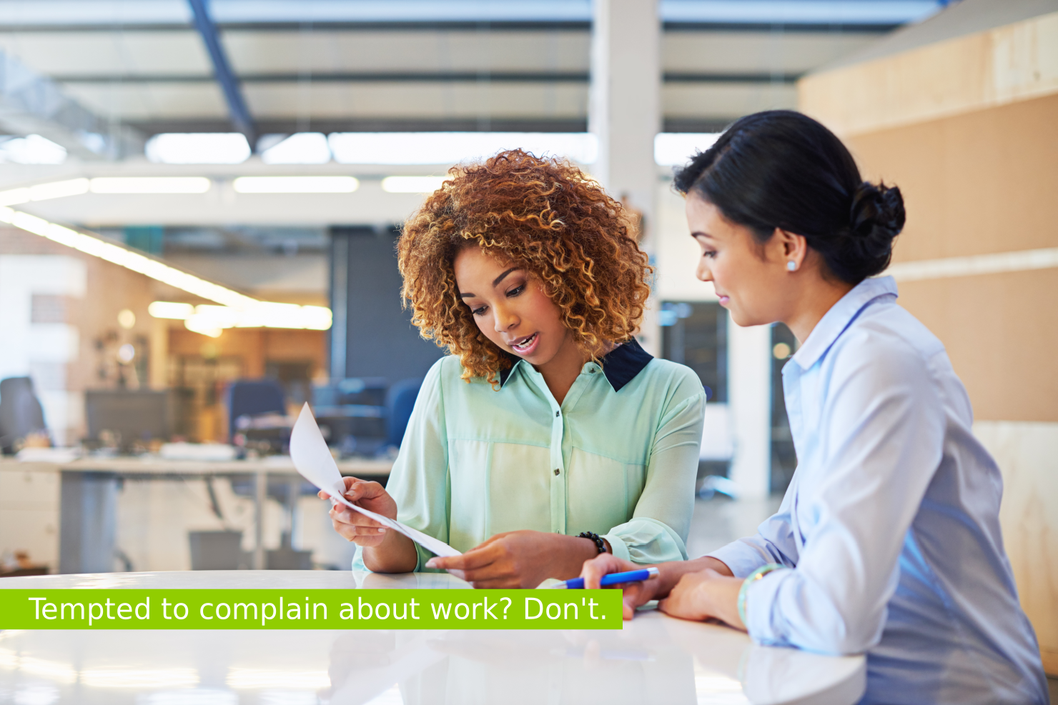complaints in your workplace