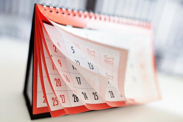 Три способа создания календаря проектов