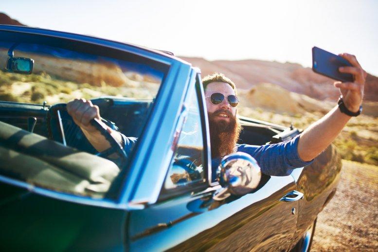 Selfie à barbe