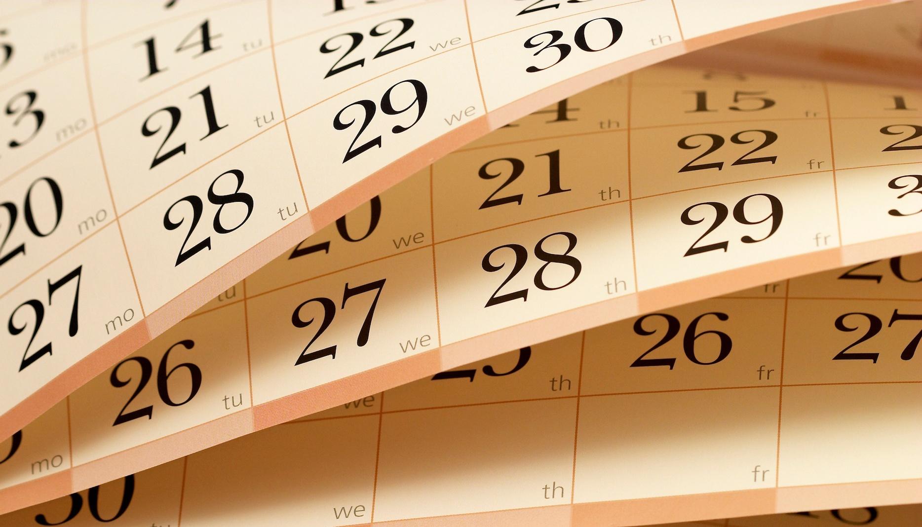 3 formas de crear el calendario de tu plan de proyecto
