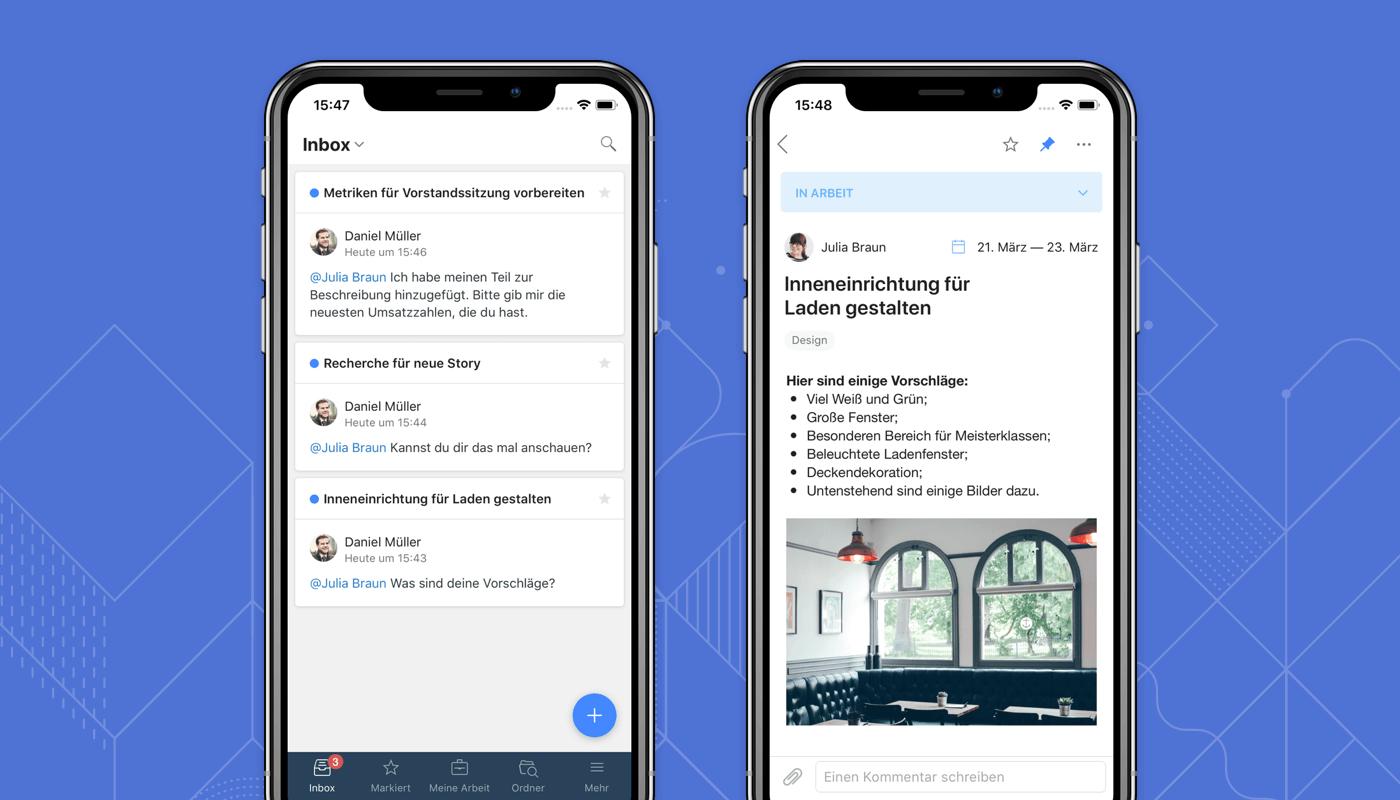 Jetzt auch auf Deutsch: Wrike für iOS