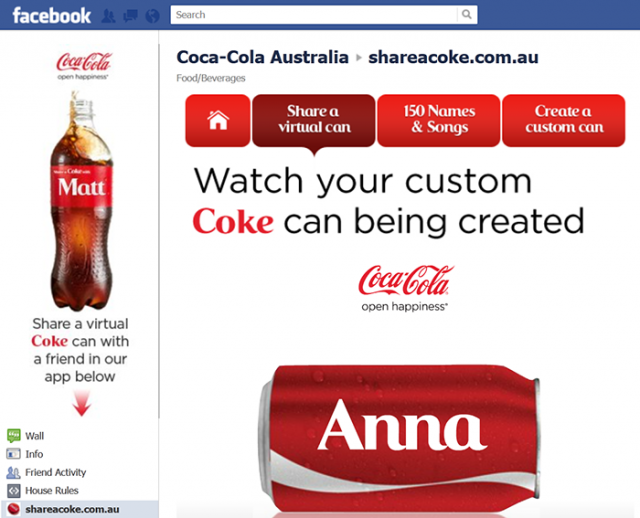 Customizing Share a Coke cans