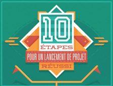 10 étapes pour le lancement de projet efficace