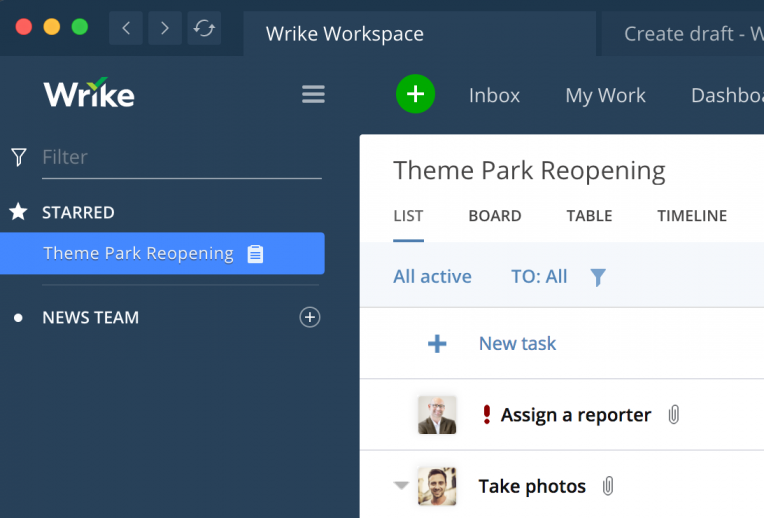 Break Free from Your Browser with Wrike for Windows & Mac