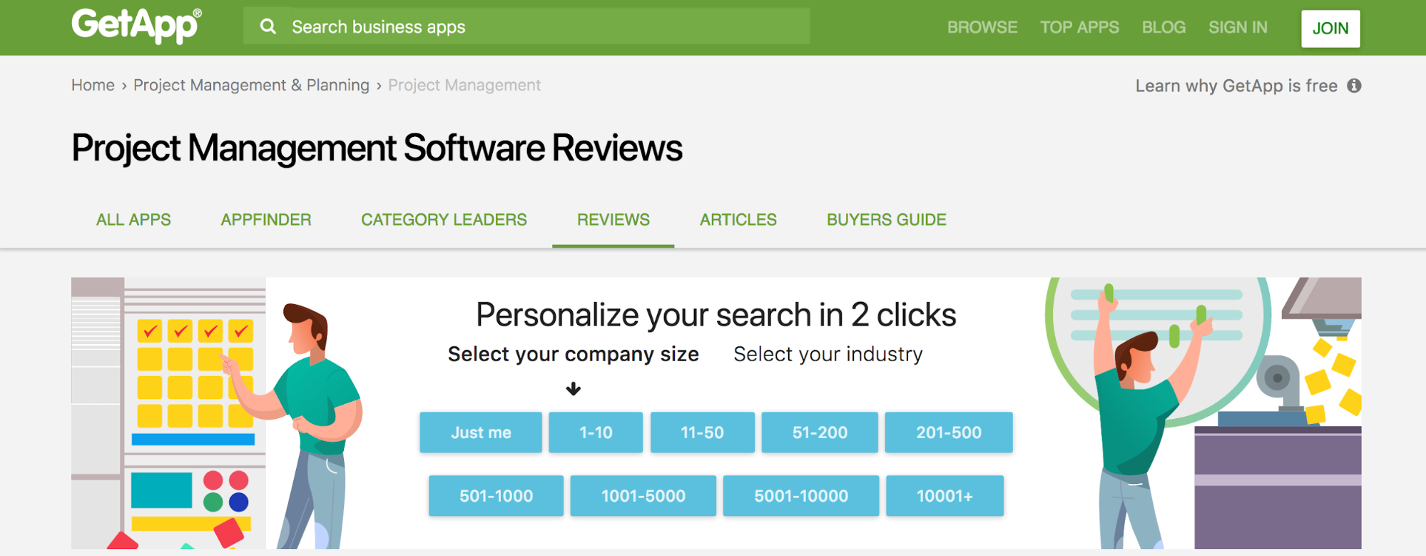 The Best Project Management Software Review Sites 5