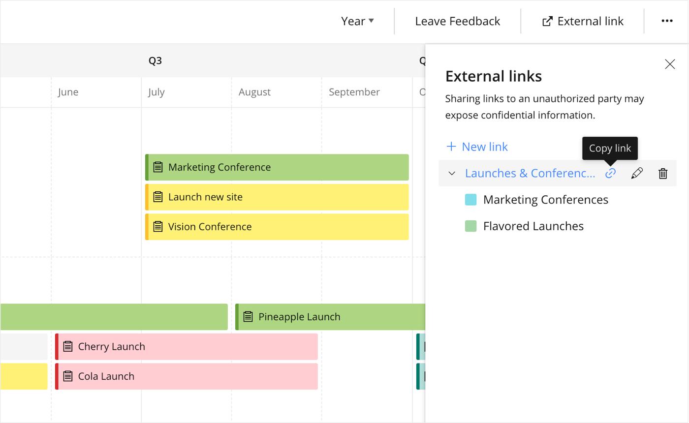 Fonctionnalités utiles au calendrier de votre équipe4