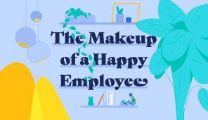 Anatomie de l'employé heureux (Infographie)