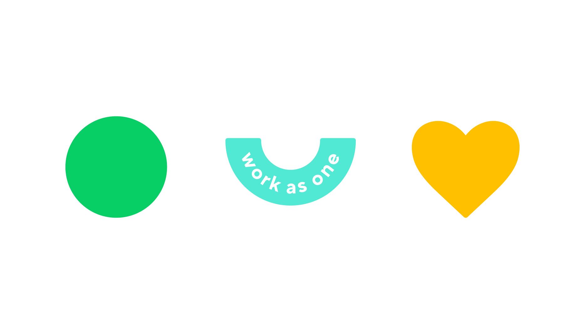 ¿Qué color expresa mejor la colaboración?