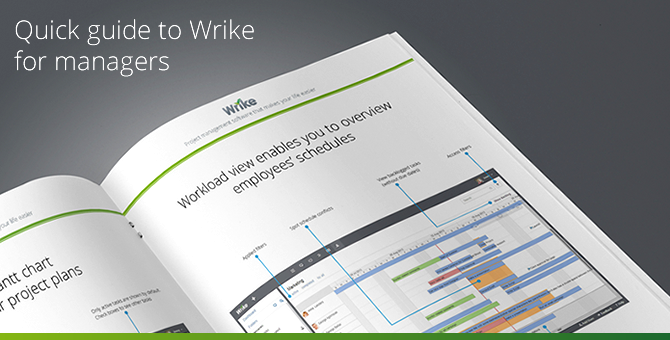 Wrike guide for managers