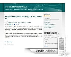 Project Management 2.0 for Kindle Users