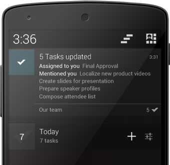 Android App Gets New Push Notifications