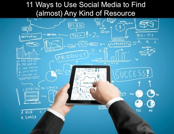 11 Ways To Use Social Media To Find Project Management Resources (or just about anything!)