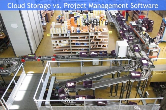 Cloud Project Management Software vs. Online File Storage: What's the Difference?