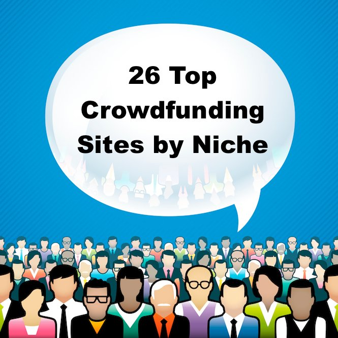 26 Best Crowdfunding Sites by Niche