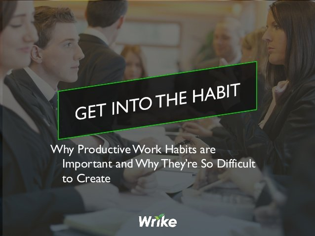 Why Are Habits Important for Productivity?