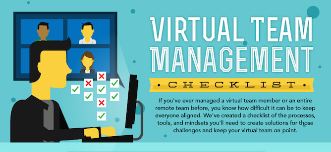 Everything You Need to Successfully Manage a Virtual Team (Checklist)