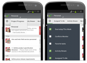 Android App Updated with Dashboards, Time Tracker, and New Widgets