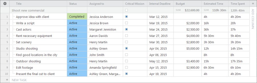 New Custom Field Formats for More Accurate Project Tracking
