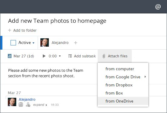 Attach Your OneDrive Files Directly to Wrike Tasks With the New Integration