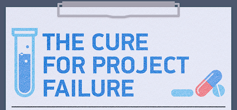 The Cure for Project Failure (Infographic)