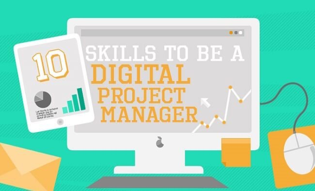 10 Skills Required for Great Digital Marketers (Infographic)