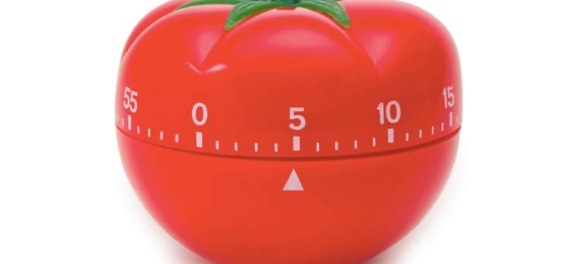 Adieu le minuteur tomate ! 4 techniques pour plus de productivité