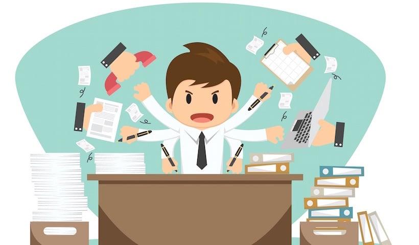 El alto precio de la multitarea: 40 % de perdida de la productividad
