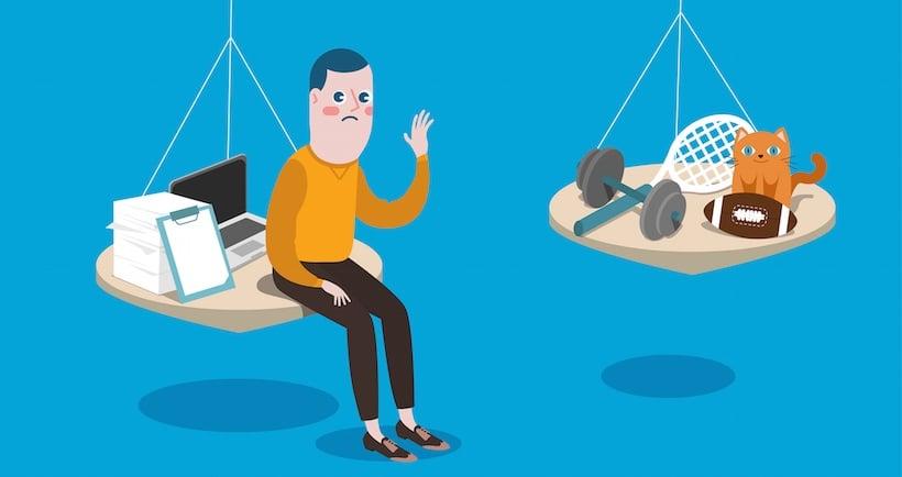 Как сохранить рассудок, работая на трудоголика: 10 советов по восстановлению баланса между личным и рабочим временем (инфографика)