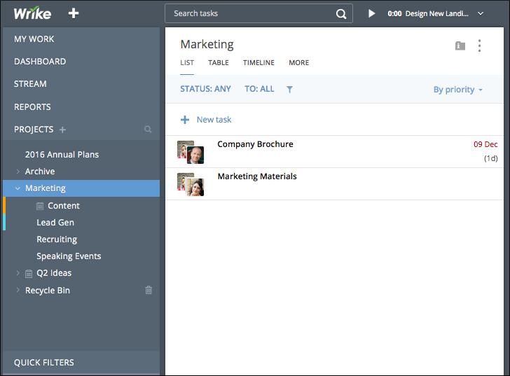 New Navigation Header: Simplify Your Task List