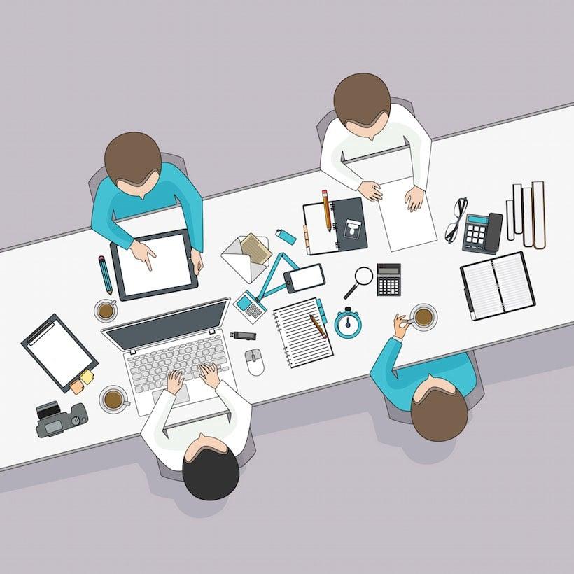 Оптимизация совместной работы над проектами