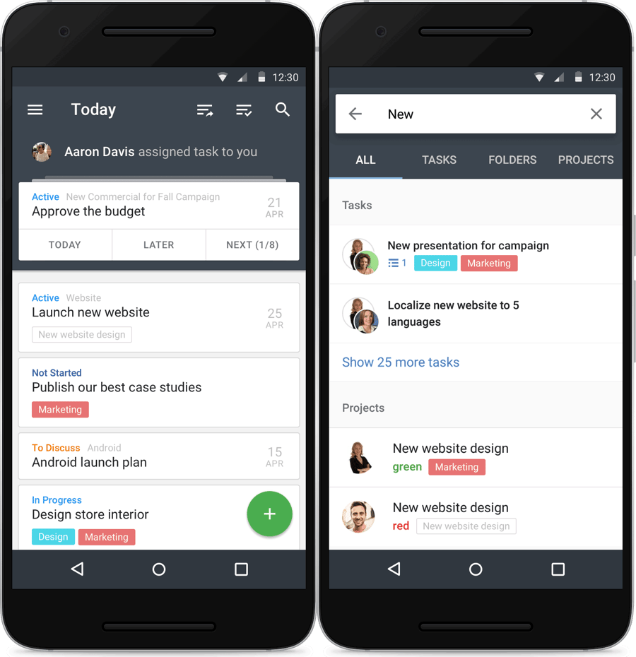 Android Mobile App Updated with New, More Intuitive Layout