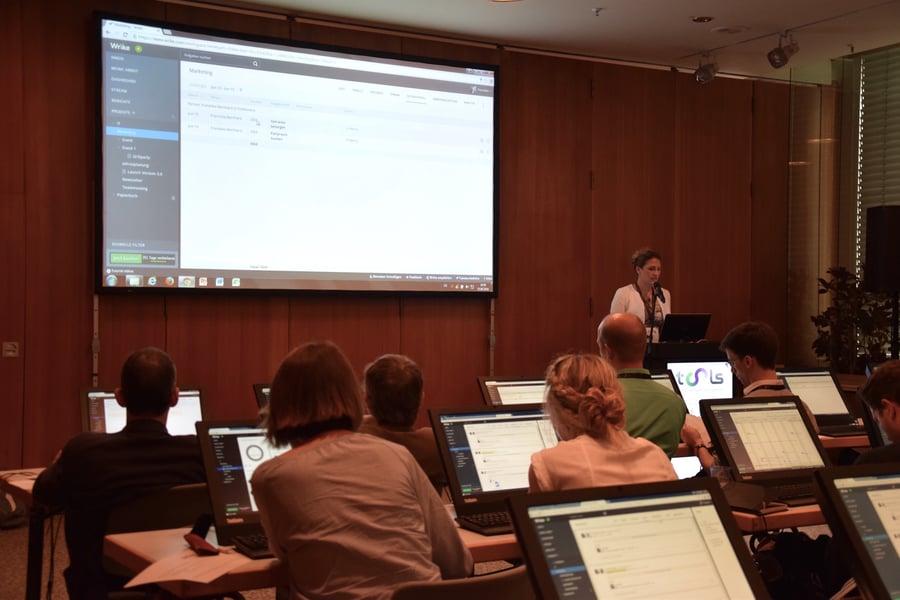 Wrike zum Anfassen auf der Connexpo Tools in Berlin