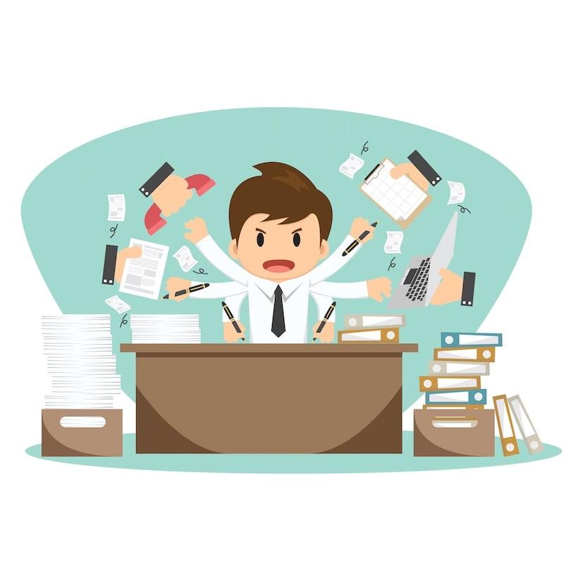 Le coût élevé du multitâche : 40 % de perte de productivité