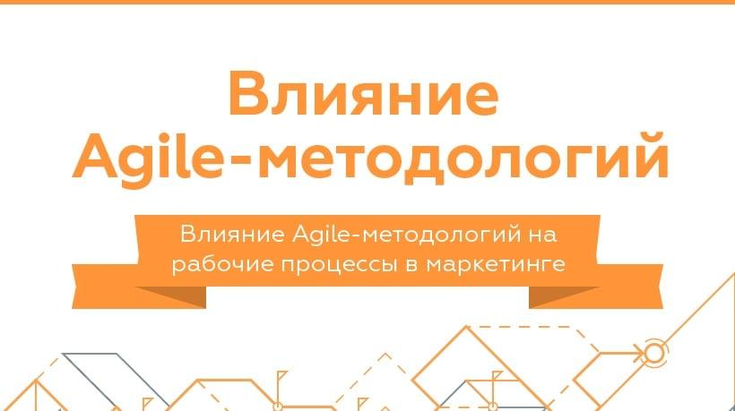 Влияние Agile-методологий на отделы маркетинга (инфографика)