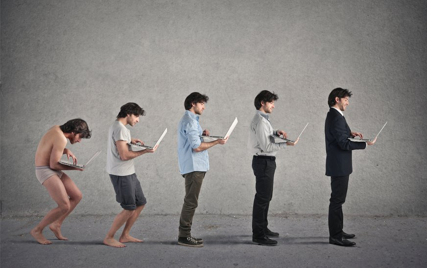 Taking a Stand: The Evolution of the Desk Employee (Infographic)