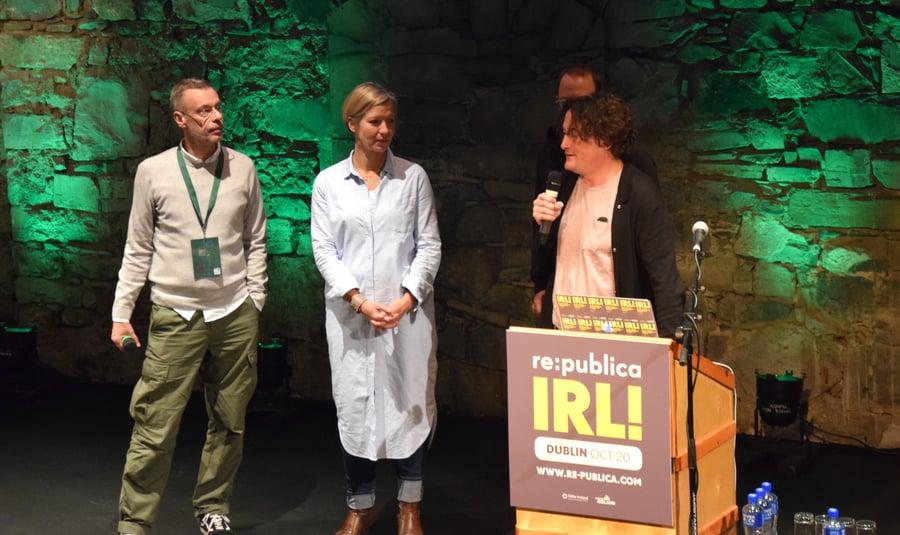 Die Re:publica Konferenz zu Gast in Dublin 2016