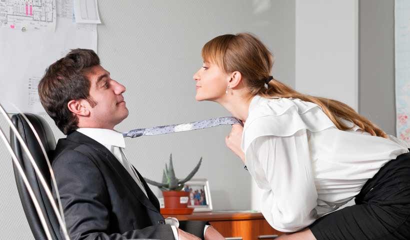 Schlechtes Benehmen im Büro ist eine riskante Sache