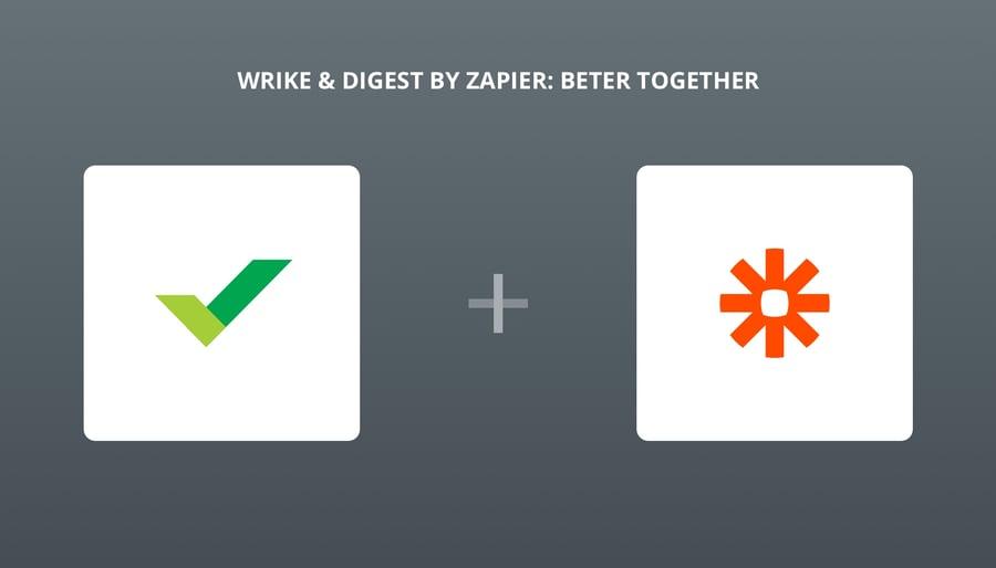 Zapier's New Digest Creates a Shareable Summary of Wrike Info