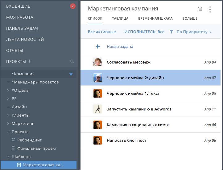 Новая автоматизированная функция в Wrike: мгновенное преобразование запросов в проекты на основе шаблонов