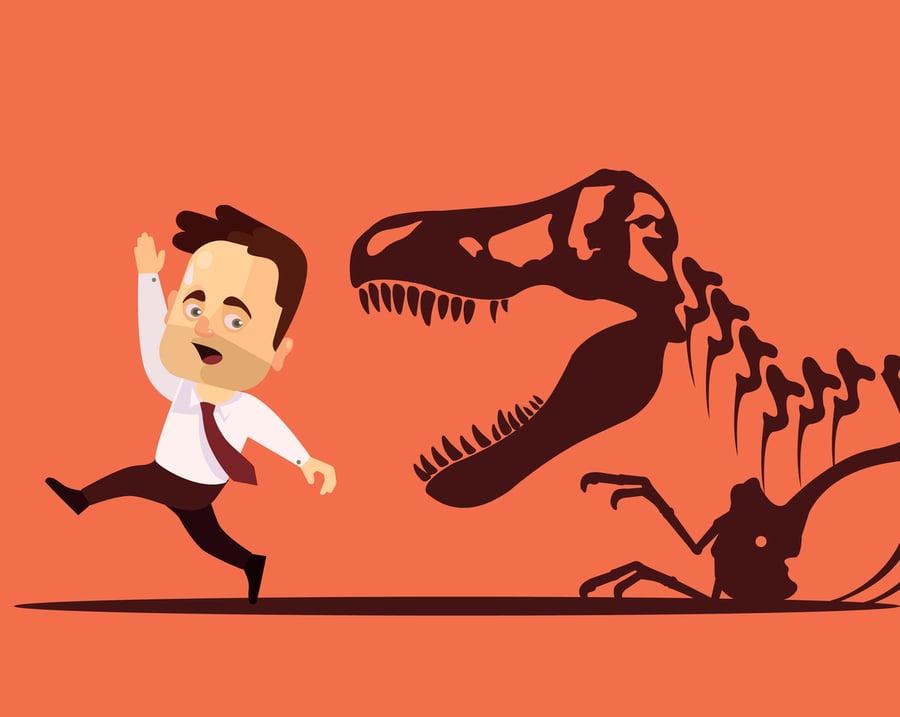 Три динозавра: доисторические инструменты, которым пора вымирать
