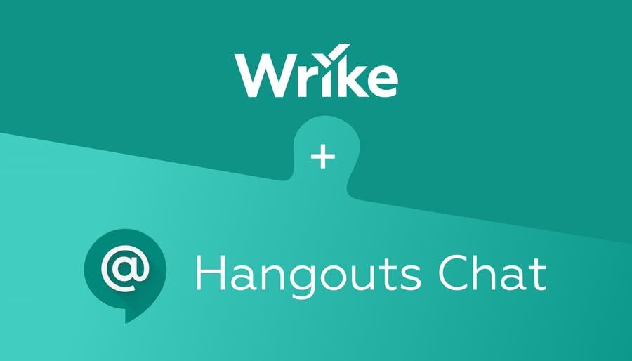 Wrike para Hangouts Chat: haz más en el contexto de tus conversaciones