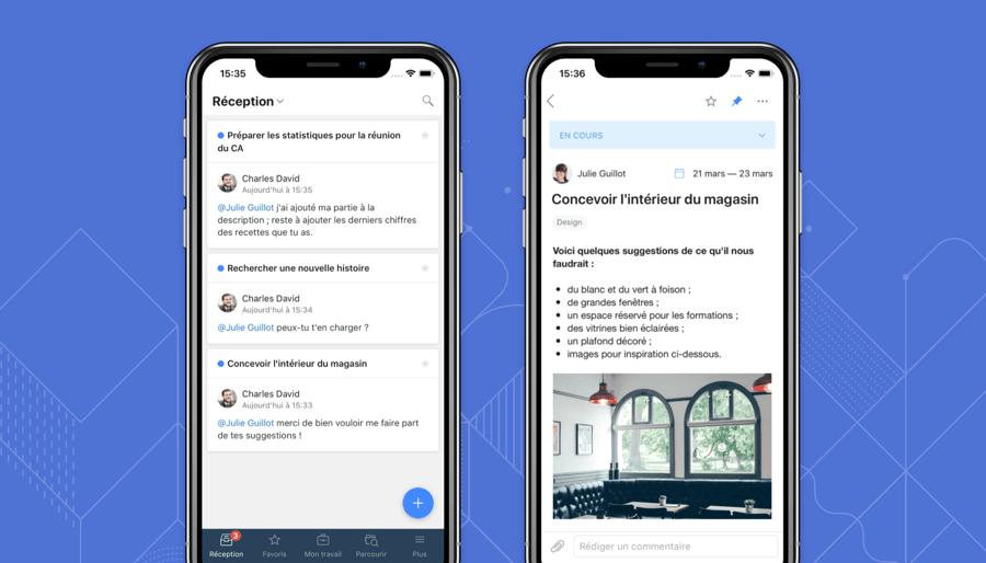 Disponible désormais en français : Wrike pour iOS