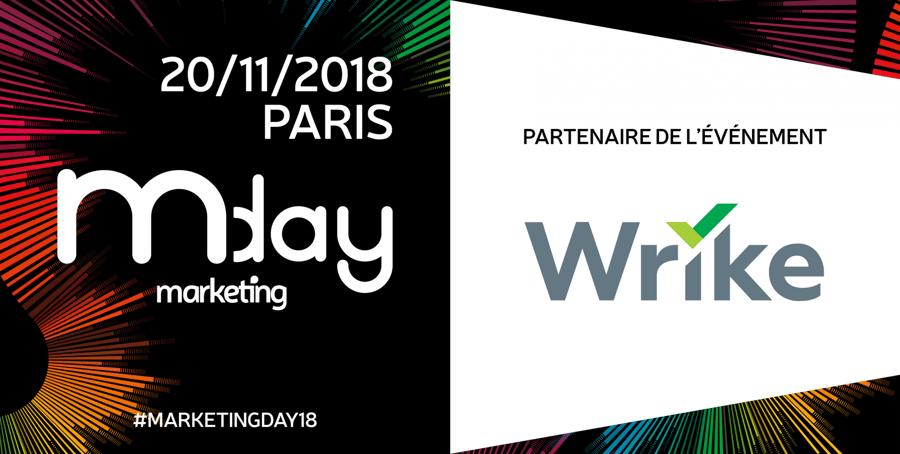 Wrike, partenaire de l'édition 2018 du Marketing Day !