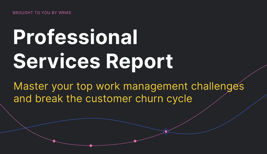 How Professional Services Teams Are Breaking the Customer Churn Cycle (Infographic)