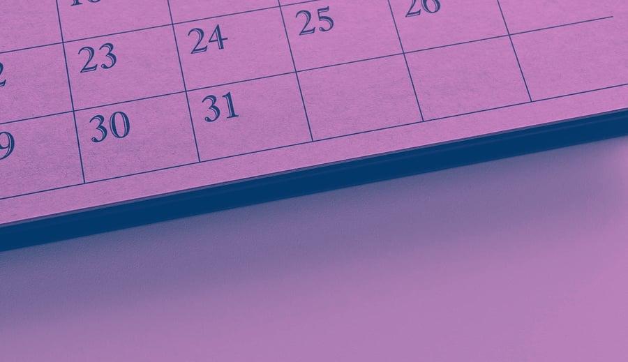 Secretos para crear un calendario para una campaña integrada de marketing