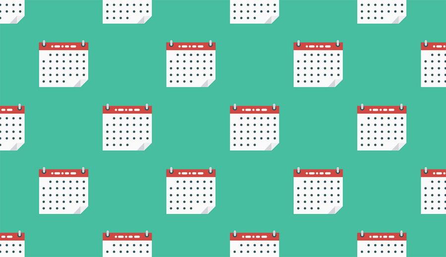 Cuándo usar un calendario de proyecto o un diagrama de Gantt