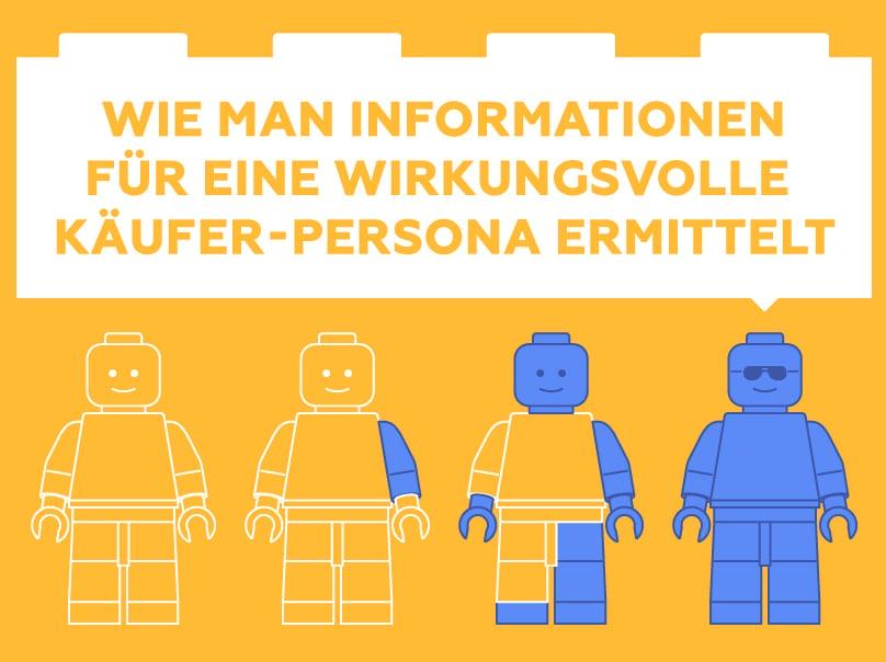 Wie man Informationen für eine wirkungsvolle Käufer-Persona ermittelt (Infografik)