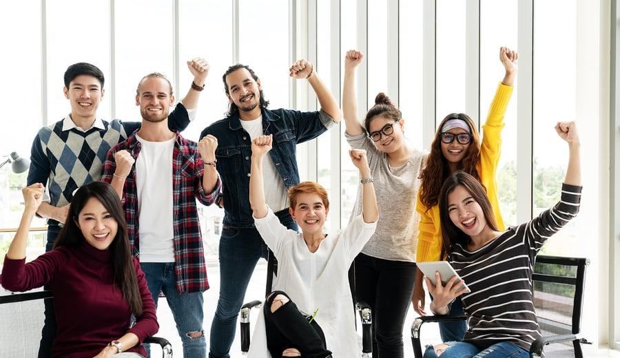 So unterstützen Sie die Vielfalt am Arbeitsplatz