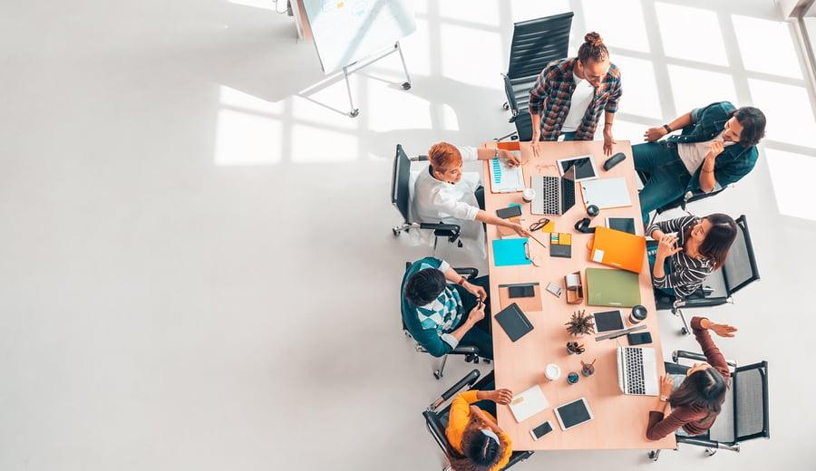 Gestion du travail collaboratif: la solution marketing complète par excellence